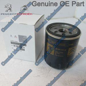 Fits Peugeot Boxer Citroen Relay Oil Filter 2.0L 2.2L HDI Blue OE 9809532380
