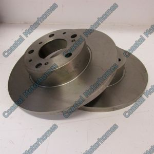 Fits Talbot Express Fiat Ducato Pair Brake Discs Peugeot J5 Citroen C25 290mm Metalli